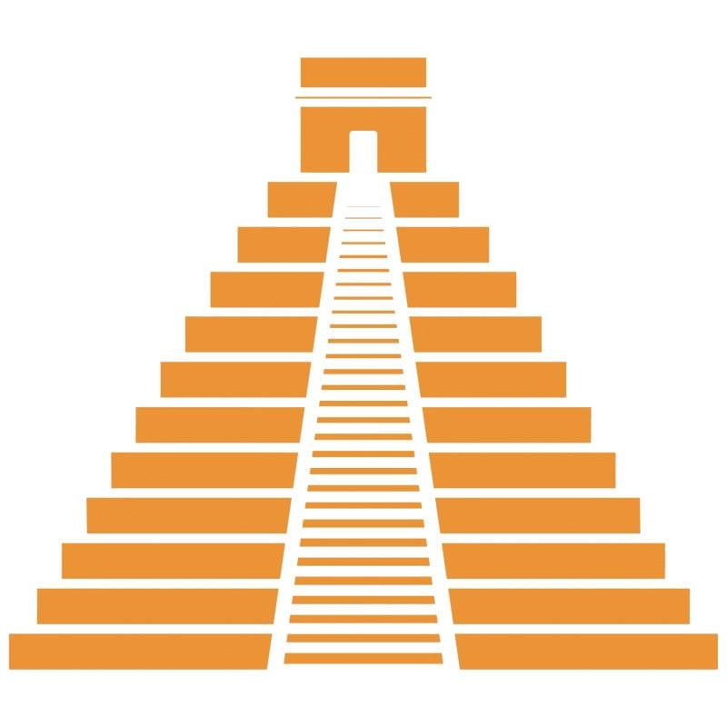 icono piramide destino mexico