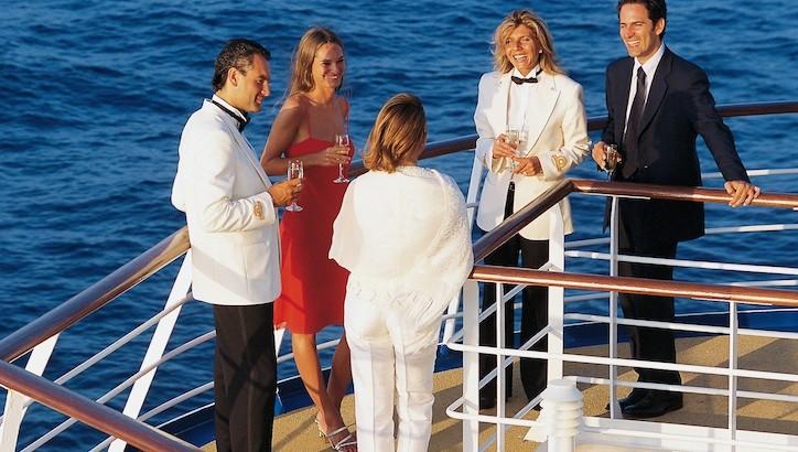 de gala en crucero